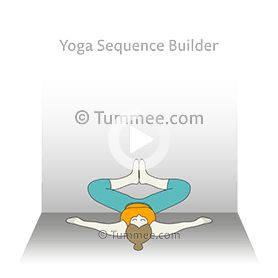 wall butterfly pose yoga wall baddha konasana in 2020
