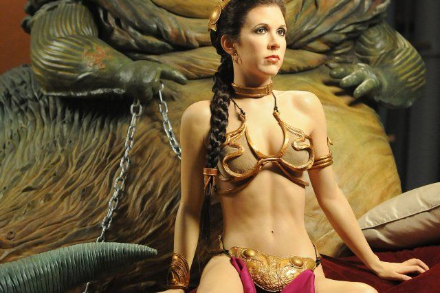 How leia bikini for sale beautiful. wish she