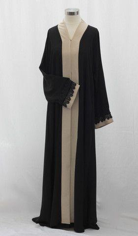 Vintage Linen Lace Abaya – aaBideen