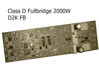 Power Amplifier ClassD Fullbridge D2K 2000Watts in 2019