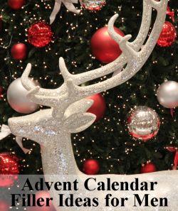 25 Advent Calendar Filler Ideas for Men