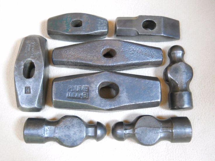 Vintage Blacksmith Hammer Heads / Metalworking   Collectibles, Tools, Hardware & Locks, Tools   eBay!