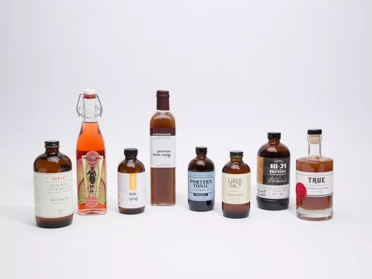 8 Great Tonic Syrups That Pass the Taste Test - Eater