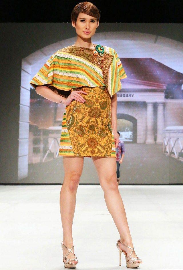 205 best Model Baju Batik images on Pinterest  Batik dress Batik