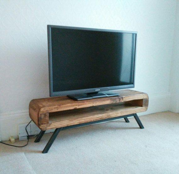 Tv Unit Narrow Rustic Industrial Mid Century Tv Stand Narrow Tv