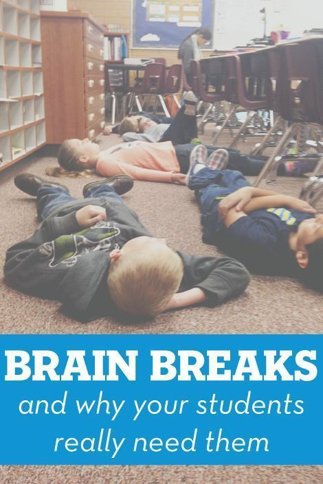 Brain Breaks and why your students really need them! (+ many free printable brain breaks)