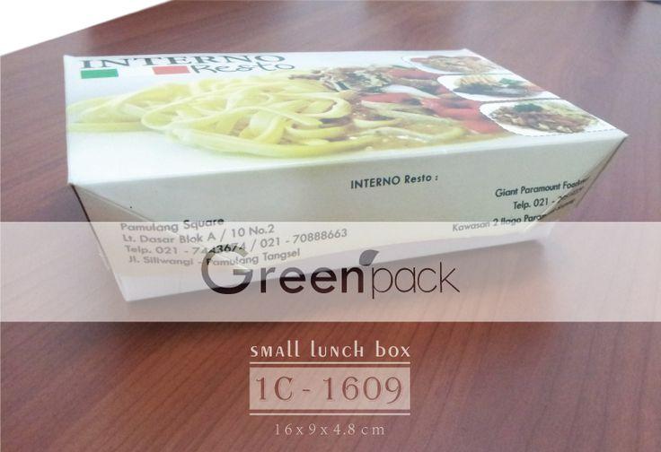Dus Makanan Food Grade Greenpack Dus Makan Inferno Tipe 1C-1609  Untuk pembuatan kunjungi : http://www.greenpack.co.id/