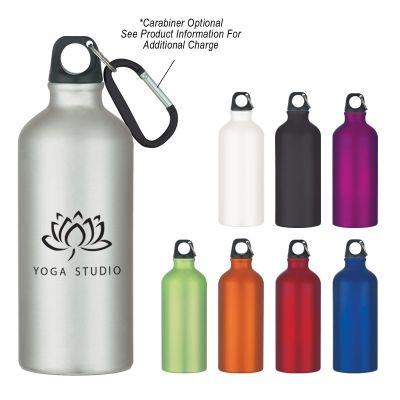 20 Oz. Aluminum Bike Bottle  $2.79/ea  |  Carabiner: $0.75/ea (optional laser engraving on carabiner available)