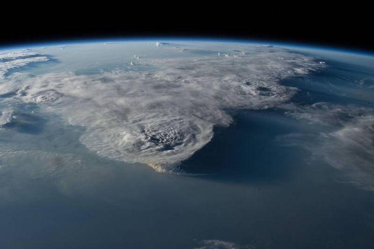 Tordenvejr over Det Filippinske Hav, som det så ud fra Nasa internationale rumstation i juni. Foto: Nasa/Johnson