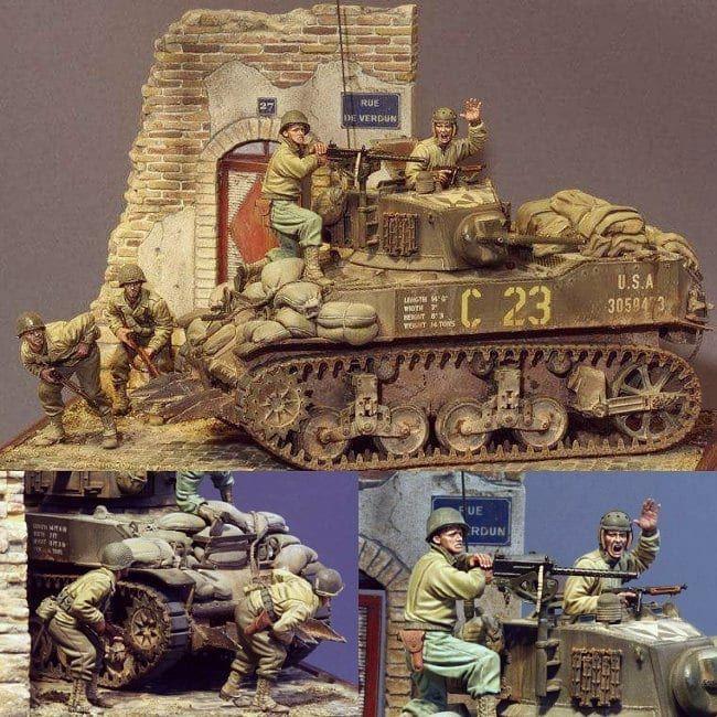 La Imagen Puede Contener 1 Persona Military Diorama Diorama Historical Figures