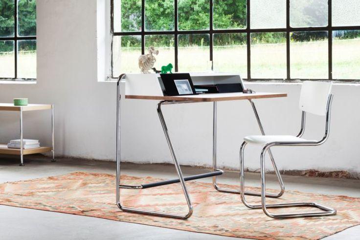 Filigran und funktional: Der Schreibsekretär S 1200 - THONET-Möbel - Stühle, Tische, Sessel und Sofas, Design-Klassiker aus Bugholz und Stahlrohr