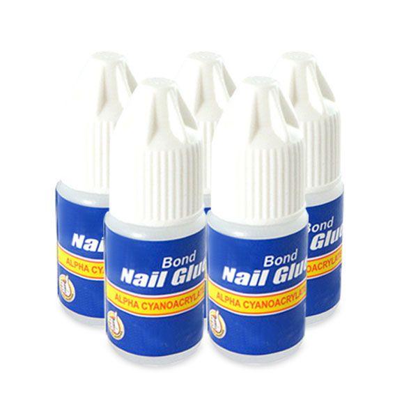 5 X 3g Pro Nail Art False Manicure Nail Tip Glue Gel Nail Tips Glue On Nails Nail Manicure
