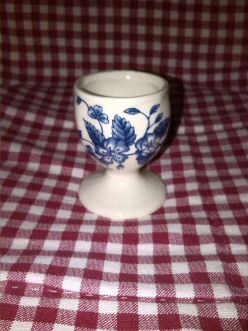 Royal Tudor Grindley Bouquet Blue eierdopje