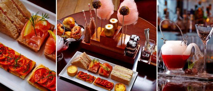 Charlie's Chocolate Factory Afternoon Tea