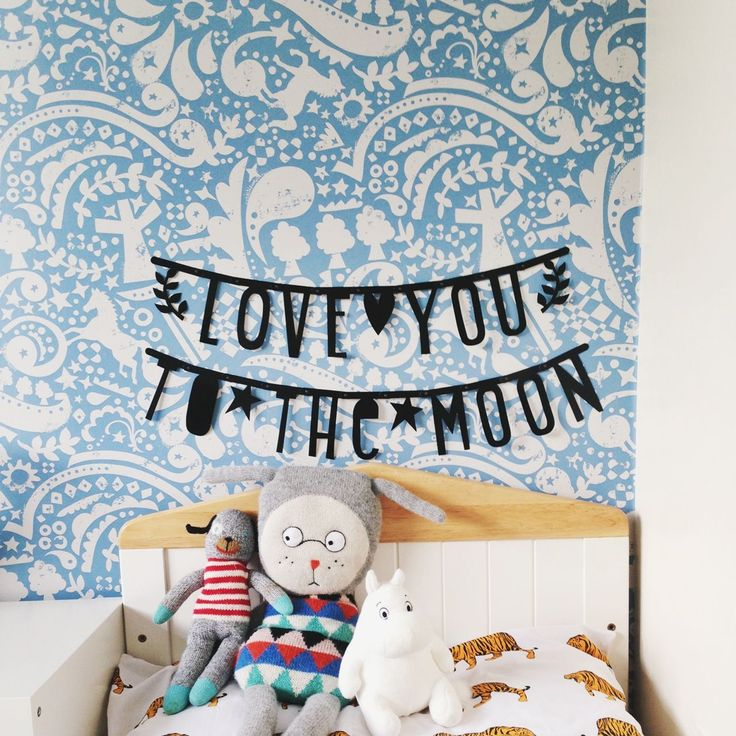 A Little Lovely Company Letter Banner via millymog