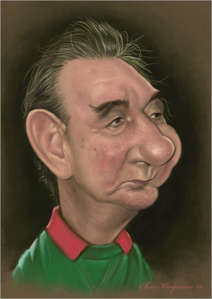 Nottingham Forest | Caricature With Attitude