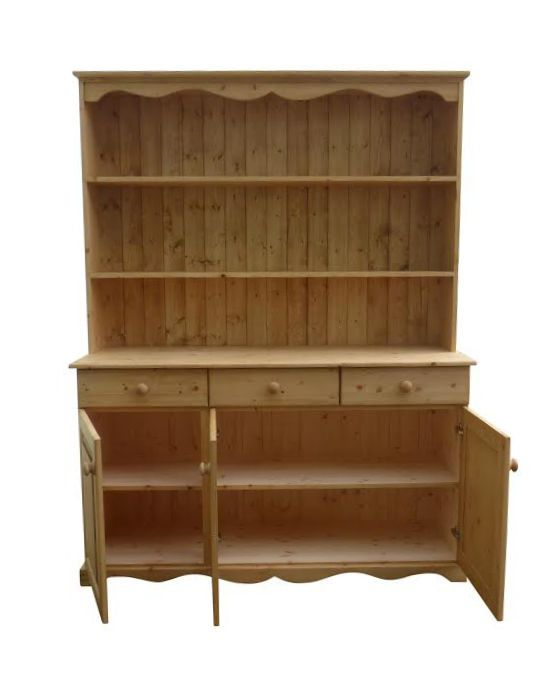 The inside view of one of our lovely dressers.