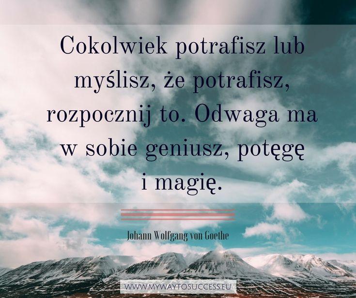 Więcej wiary w siebie!! #motywacja #odwaga #wiarawsiebie #cytaty