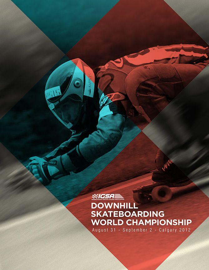 IGSA Downhill Skateboarding World Championship Posters by Chris Amat