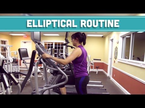 To Lose 10 lbs. ASAP (like in a week) = Do This Elliptical Workout - YouTube
