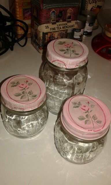 Εven if your jars cannot paint,you still can decorated!!
