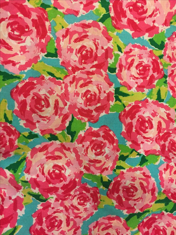 Hotty Pink First Impression Hpfi Lilly Pulitzer Fabric