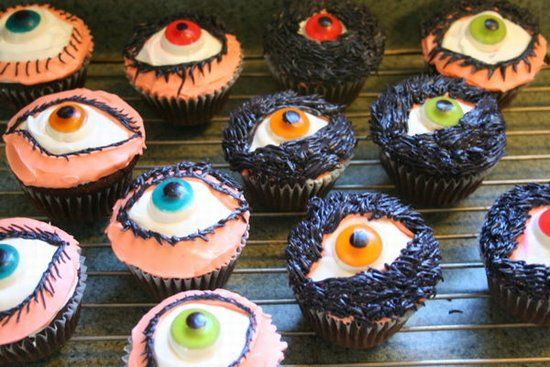 Lots of gruesome food ideas for a Halloween party