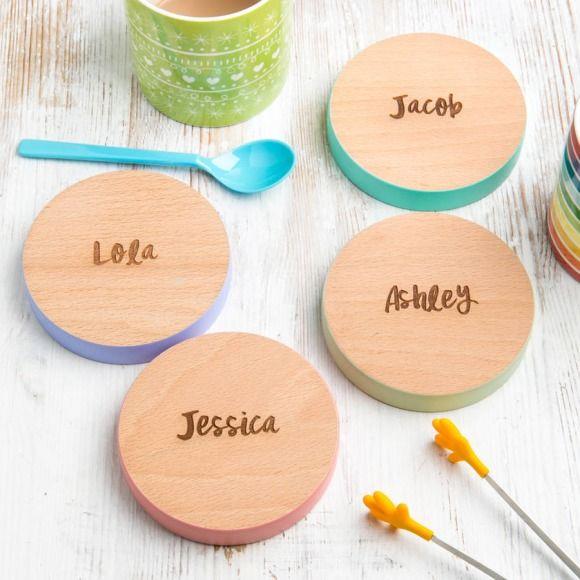 Personalised Family Name Coasters | hardtofind.