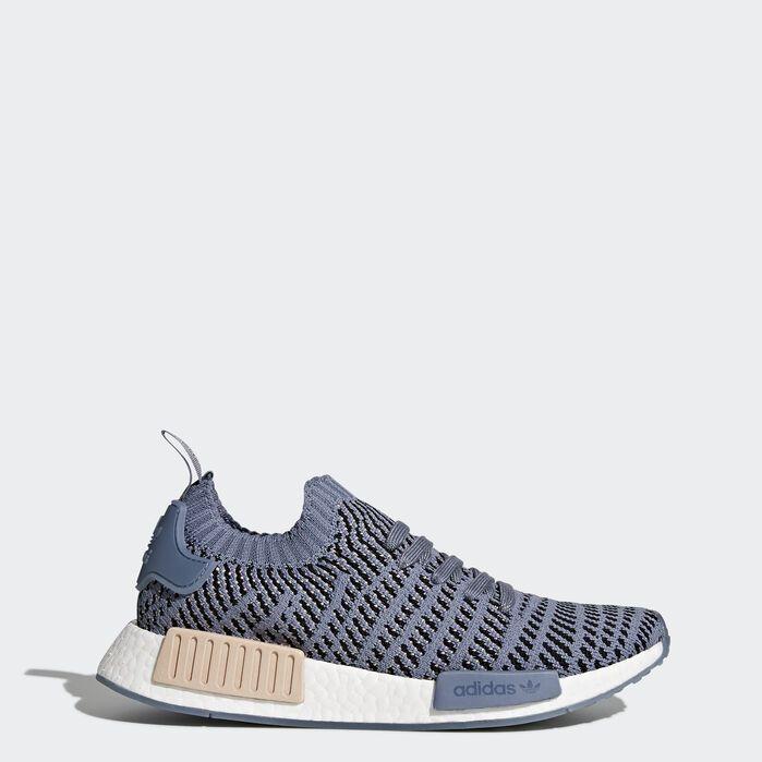 NMD_R1 STLT Primeknit Shoes Grey Womens | Adidas nmd r1