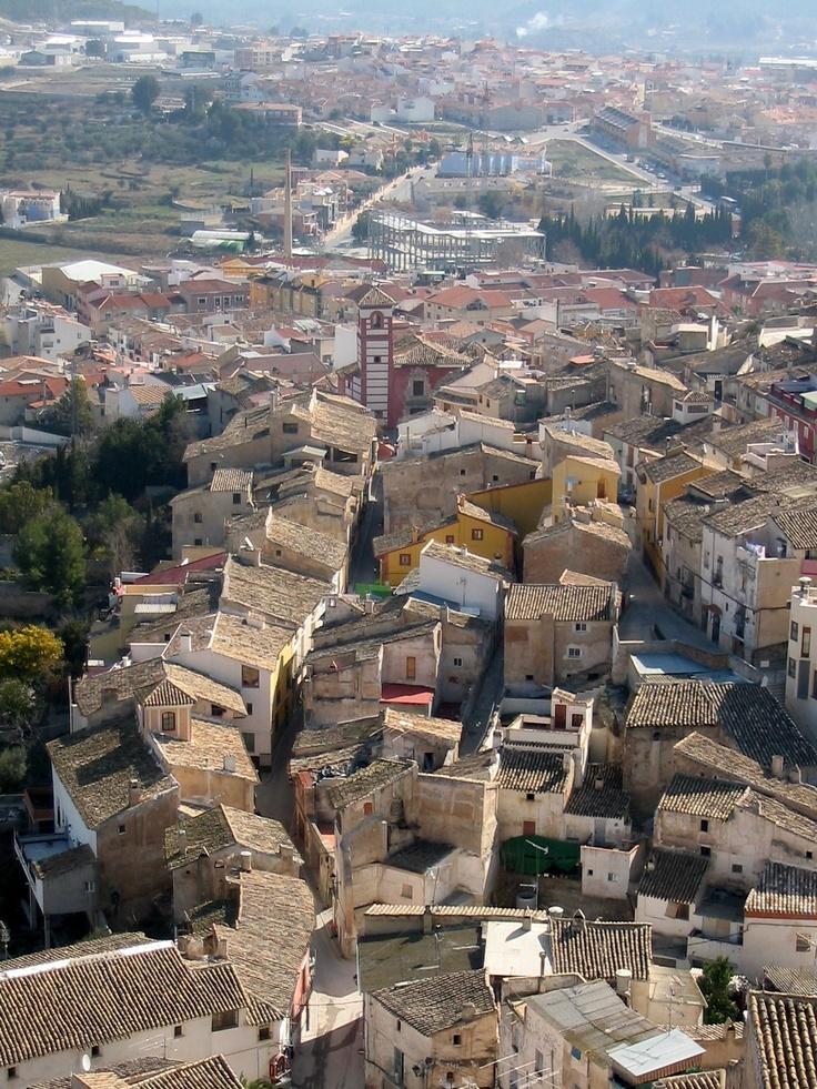 Medieval narrow streets fantasia,around the Iglesia de la Sangre de Cristo in Cehegin- Spain