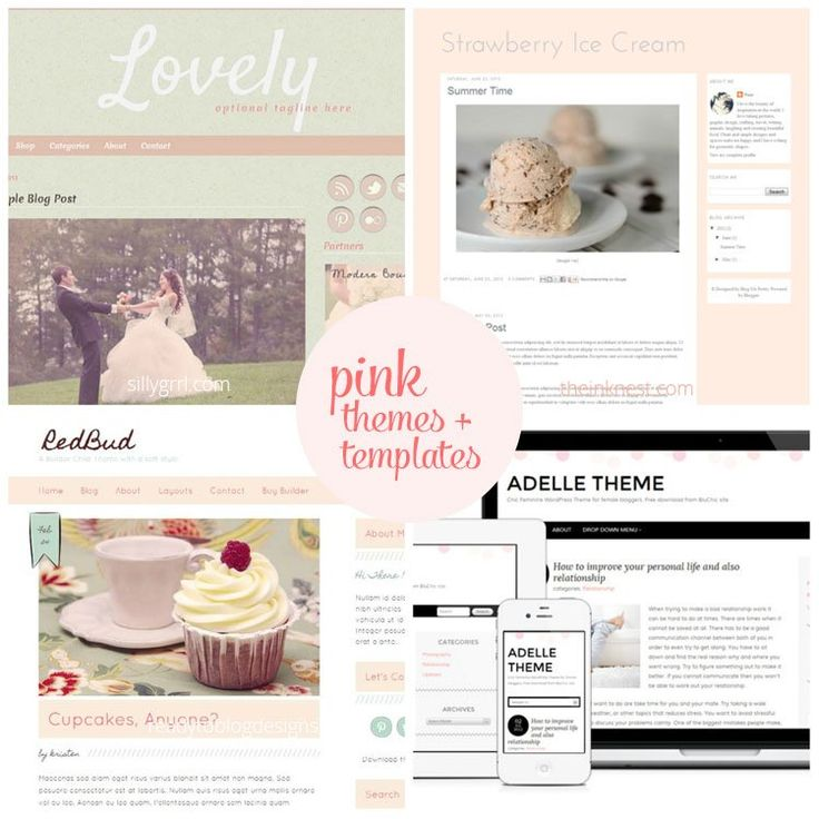144 best ::Cute Blogger Templates :: images on Pinterest | Design ...