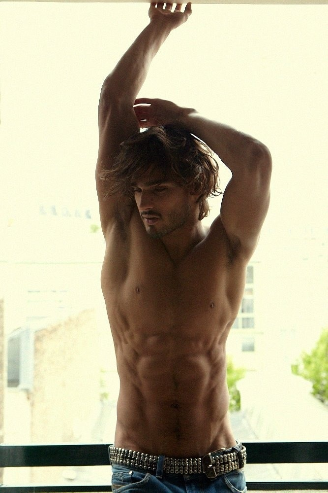 Marlon Teixeira. He is from Brazil. If I had a type, this would be it. Tan. Foreigners.