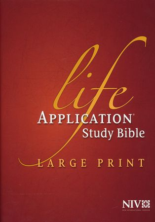 NIV Life Application Study Bible NIV Large Print, Hardcover: 9781414359762 - Christianbook.com