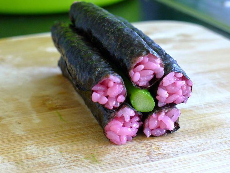 Sushi Art rolls (tuto) fleurs | Recettes pour mon bentô