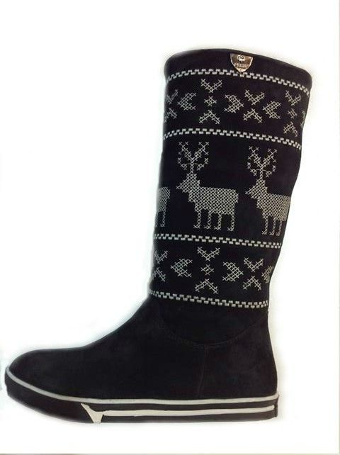 Santa will be wanting these under his tree this year. Rudolf inspired suede sheepskin lined boots with embroidered reindeer and snow patterns. Still time to get yours from www.shoesatgoody2shoes.co.uk