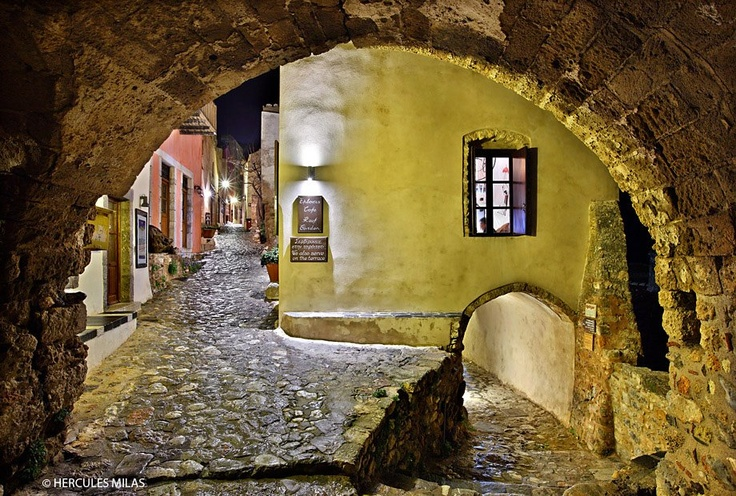 Monemvasia, Peloponnese, Greece (by Hercules Milas)