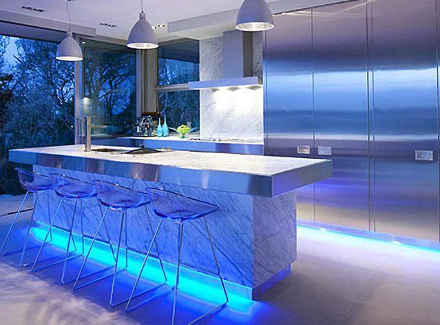 Led Kitchen Lighting Home Interior Design Ideas Kitchen Lighting Design Kitchen Led Lighting Strip Lighting Kitchen