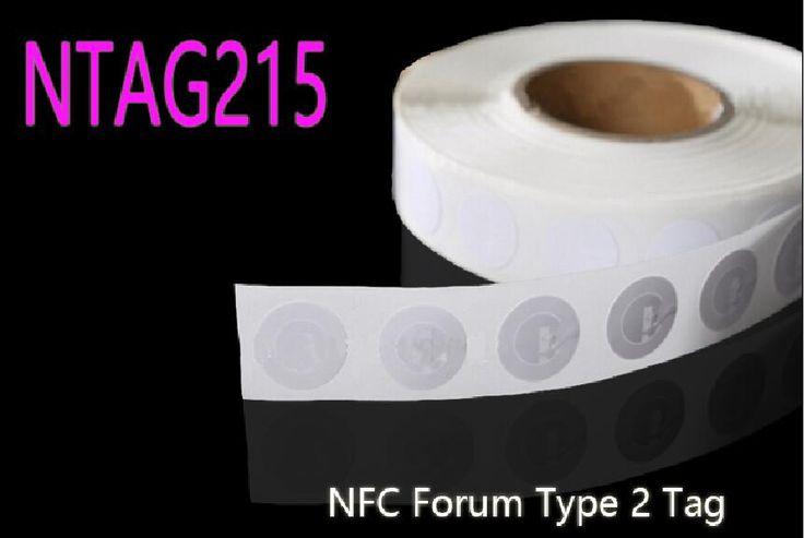 50 шт. NTAG215 NFC Стикер Все NFC Телефона Доступны NFC Наклейки Этикетки Amiibos Тег Для Tagmo