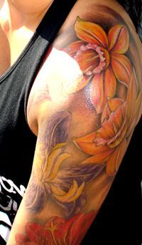 Download Free ... Flower Births Flower Flower Tattoos December Birth Flower Tattoo to use and take to your artist.