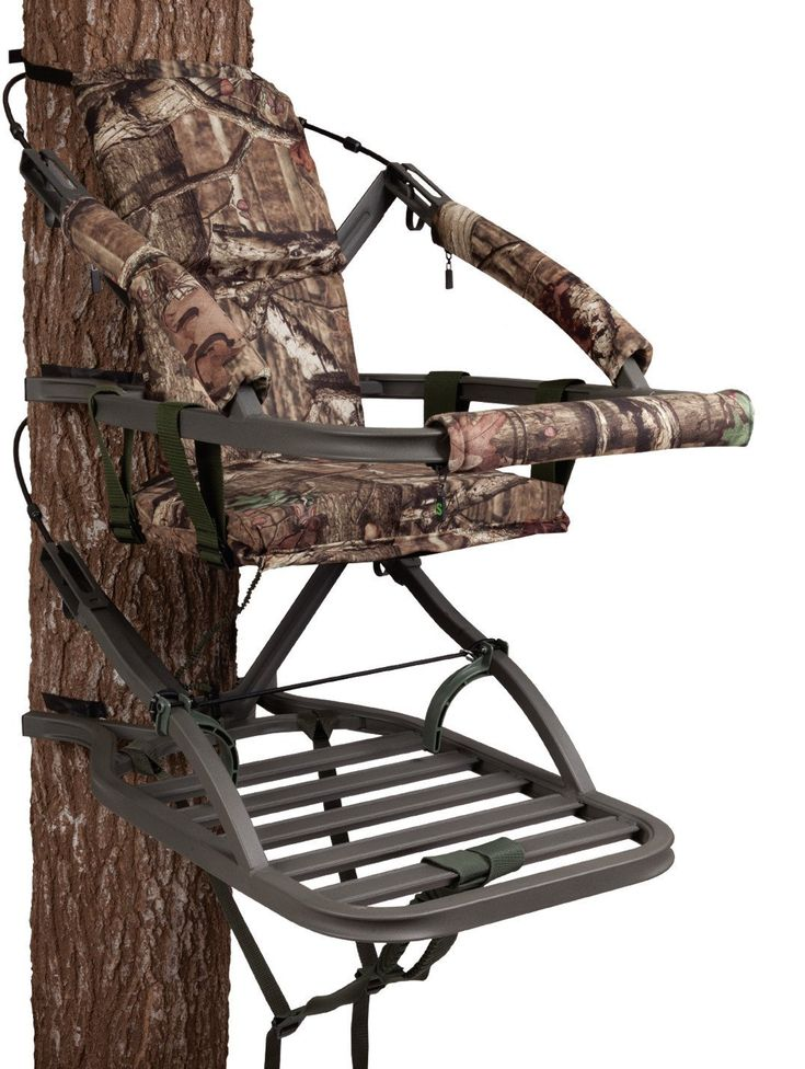 Summit Treestands Viper SD Climbing Treestand Read Our Review here @ https://bullseyehunting.com/best-climbing-tree-stands-2017-reviews-bullseyehunting/