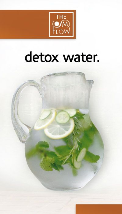 Recipe for Detox Water – 2L water, 1 medium cucumber, 1 lemon, 10-12 mint leaves. Steep overnight in fridge and drink every day. #health #water #acne #weightloss