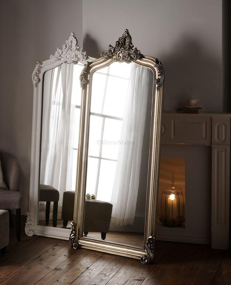Nicoli Ornate Swept Framed Full Length Mirror - All Mirrors - Mirrors