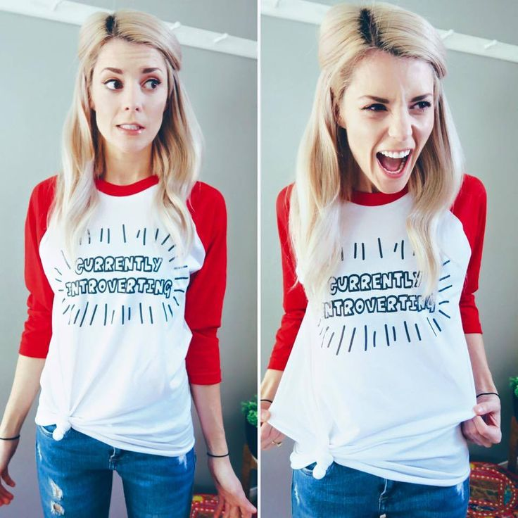 """""""Don't worry about having to tell someone you're uncomfortable in a social setting anymore, let this shirt do it for you! Even though you'll probably worry about it anyway! Classic you! At least yo..."""