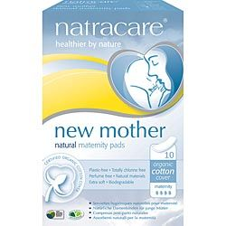 Natracare Maternity Pads ~(10 pads)