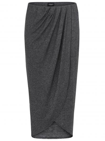 Katrina Jersey Wrap Skirt