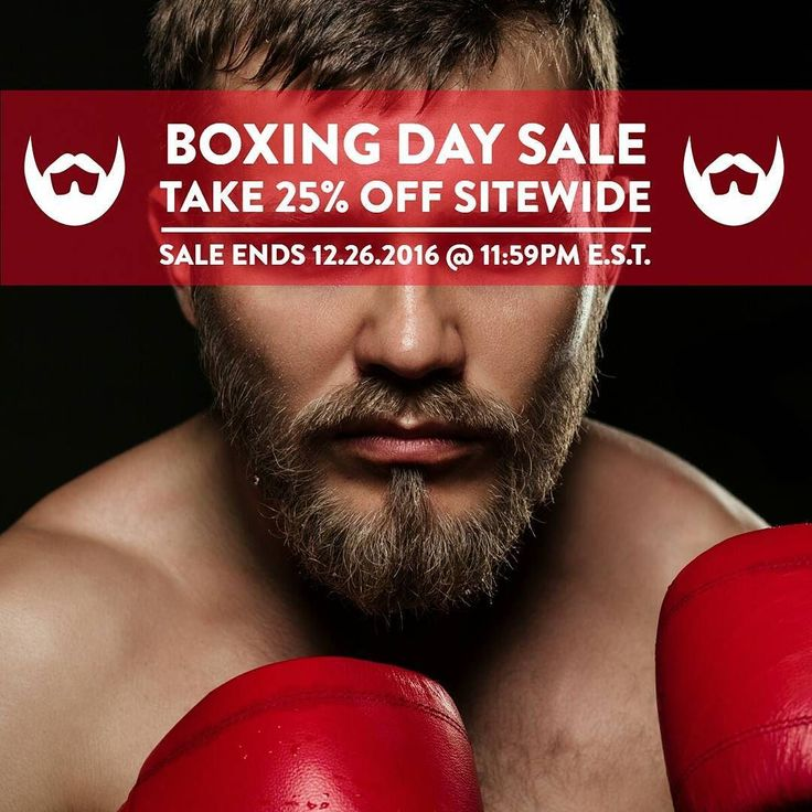 It's time to stock up and save 25% off everything at Alwaysbearded.com -- #alwaysbearded #beards #beardsofinstagram #beardseason #beardstagram #beardsandtattoos #beardsofig #beard #beardman #boxingday #boxing #sales #deals #grooming #menshealth #menstyle #fashion #bespoke #grooming #barber #barberlife #hairstylist #hair
