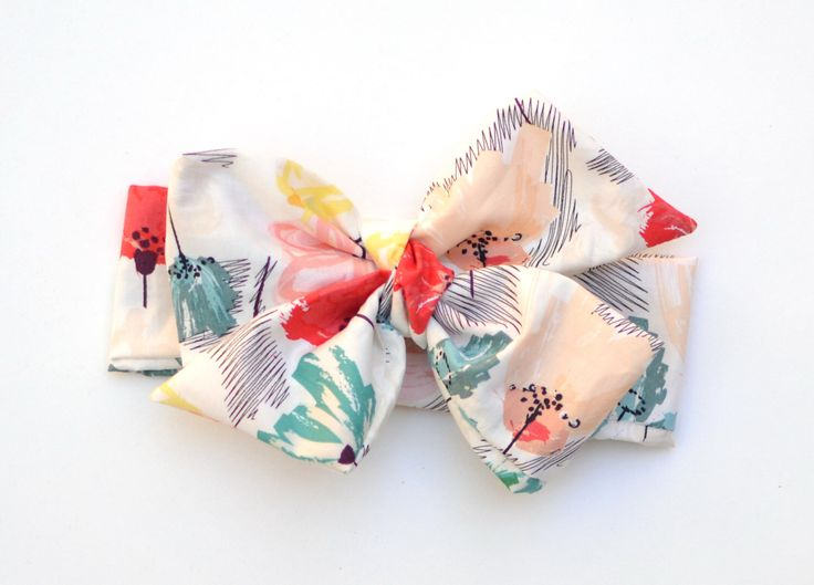 Floral Bow Tied Headwrap; White Floral Printed Fabric Headwrap; Fabric Bow Headband; Headwrap by youmeandourbees on Etsy https://www.etsy.com/listing/219581510/floral-bow-tied-headwrap-white-floral