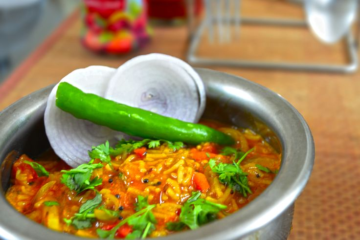 An authentic delicacies from Rajasthan served in dhabas. This Sev Sabzi is a spicy curry so full of flavours best had with Jowar Roti. Finish the meal with a sweet - Hare Chana Burfi. Click on the images for recipes. #EverydayCooking #Recipes