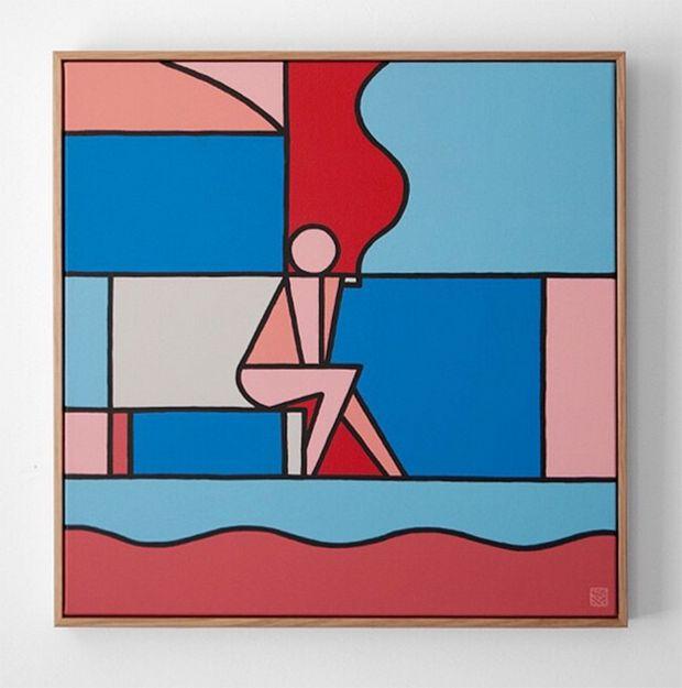 A arte abstrata e geométrica de Stephen Baker                                                                                                                                                                                 Mais                                                                                                                                                                                 Mais