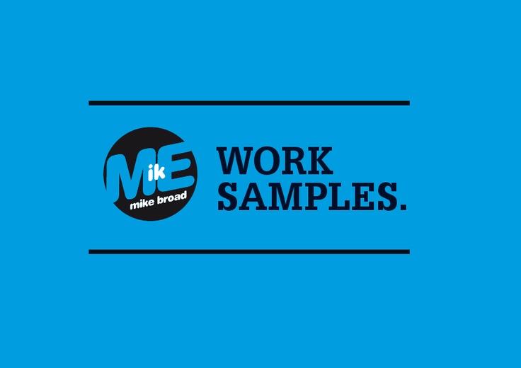 The Graphic & Web Design PDF Portfolio of Mike Broad